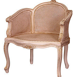 Miriam Chair in Versailles Finish - Accent Chairs - Sofas &amp; Chairs - Furniture - PoshLiving