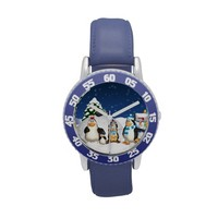Penguin Family Winter Holiday Fun Watch For Kids