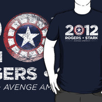 Vote Rogers & Stark 2012 (White Vintage) by Eozen