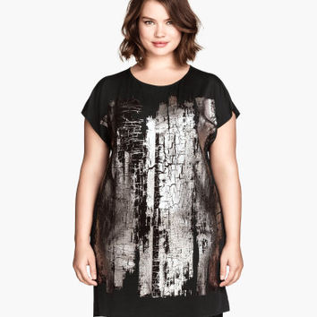 H&M H&M+ Tunic with Printed Design $34.95