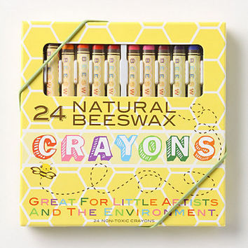 Natural Beeswax Crayons
