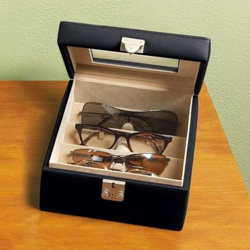 Personalized Royce Leather Eyeglass Valet