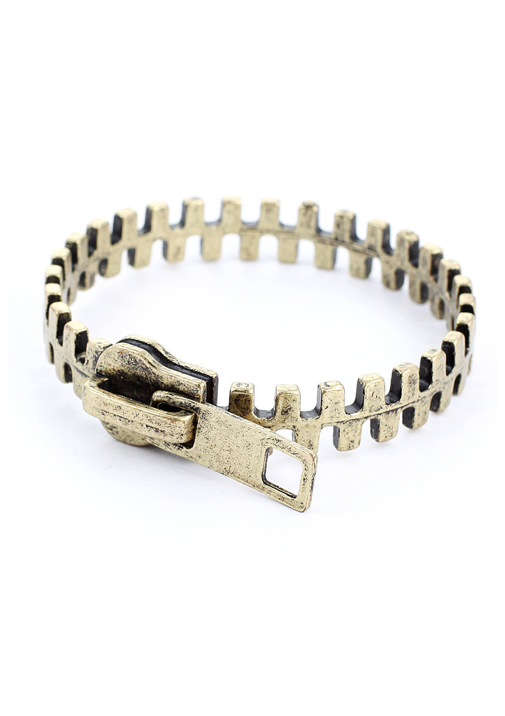 Zip Retro Metal Bracelet  - New Arrivals - Retro, Indie and Unique Fashion