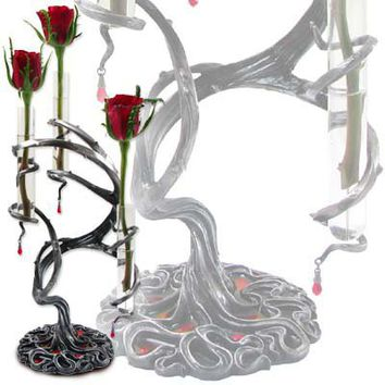Tres Thorns of Passion Bud Vase - Candle Holders & Vases - Home Stuff - Gothic, Vampire & Steampunk stuff at GothicPlus.com (Powered by CubeCart)