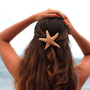 Large Starfish Barrette