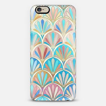 Vintage Twenties Art Deco Pastel Pattern iPhone 6 case by Micklyn Le Feuvre | Casetify