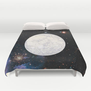 Moon machinations Duvet Cover by Anipani