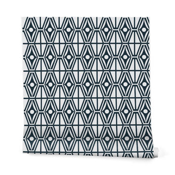Heather Dutton Metro Steel Wrapping Paper - 2' x 10' Roll