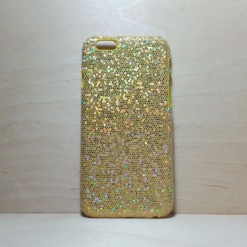 Glitter Case for iphone 6 (4.7 inches) - Gold