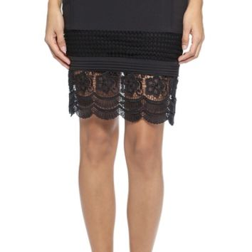 endless rose Lace Pencil Skirt