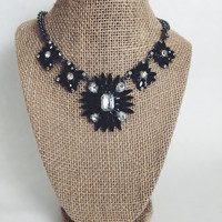 Ana Spike Statement Necklace and Earring Set