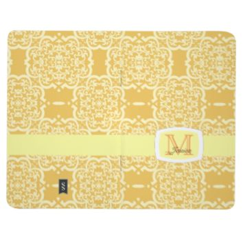 Quatrefoil Damask (Yellow) Journal