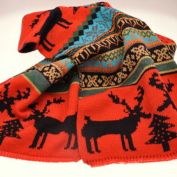 Christmas Jumper Style Woolly Scarf WAS £24.95 NOW £17.47