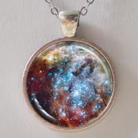 Universe Necklace - Merging Star Cl.. on Luulla