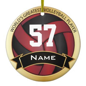 World's Greatest Volleyball Player | Red, Black