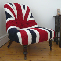 Albert Knitted English Chair