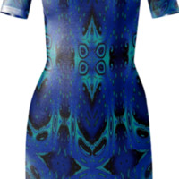 Ice Melt Bodycon Dress created by Eric Rasmussen | Print All Over Me