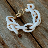 THE SOPHIA BRACELET IN WHITE - Default