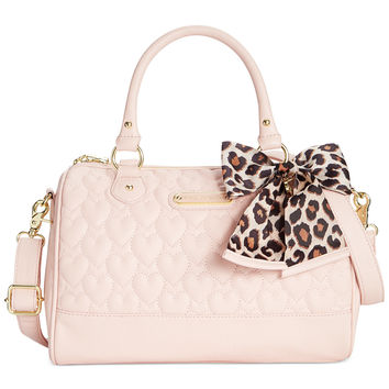 Betsey Johnson Macy's Exclusive Quilted Satchel