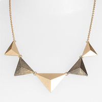 Stephan & Co. Pyramid Statement Necklace | Nordstrom