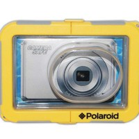 Polaroid Dive-Rated Waterproof Camera Housing - Protects Virtually Any Ultra Compact Lens Camera