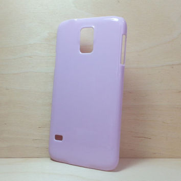 Hard Plastic Case for Samsung Galaxy S5 - Lilac