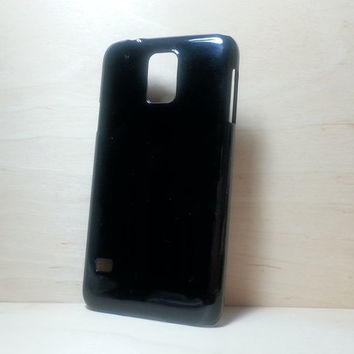 Hard Plastic Case for Samsung Galaxy S5 - Black