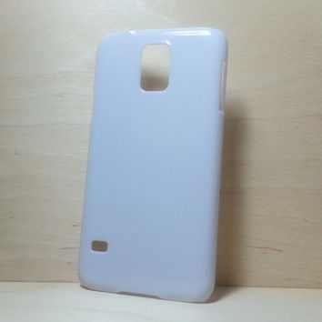 Hard Plastic Case for Samsung Galaxy S5 - White