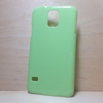 Hard Plastic Case for Samsung Galaxy S5 - Grass Green