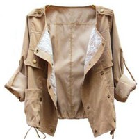 The Lace May Turn Aleeve Women Jacket  ST012Z