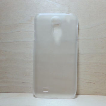 Hard plastic case for Samsung Galaxy S4 - Frosted Clear