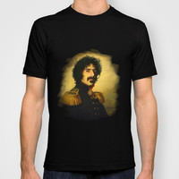 Frank Zappa - replaceface T-shirt by Replaceface