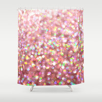 Pinkalicious Shower Curtain by Lisa Argyropoulos
