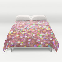 Pinkalicious Duvet Cover by Lisa Argyropoulos