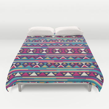 AZTEC PATTERN Duvet Cover by Nika