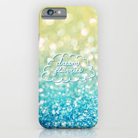 dream flurries iPhone & iPod Case by Lisa Argyropoulos