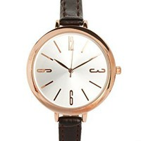 River Island Vintage Skinny Watch at asos.com