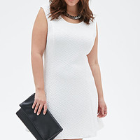 Quilted Geo Patterned Dress