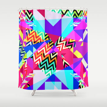 Mix #235 Shower Curtain by Ornaart