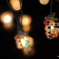 20 Bead garland string light patio hanging indoor outdoor light decor wedding party home living