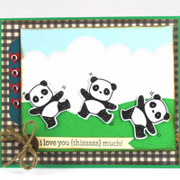 Valentine Card - I love you this much! - Card for Husband / Wife - Card for Girlfriend / Boyfriend