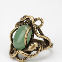 Circling Serpent Ring