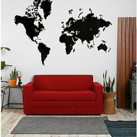 UrbanOutfitters.com > World Map Wall Decal
