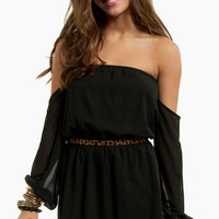 Flaunt It Off Shoulder Dress $58