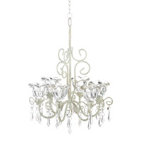Crystal Blooms Candle Chandelier - Default