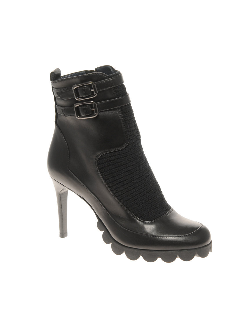 Pollini Heeled Ankle Boot at asos.com