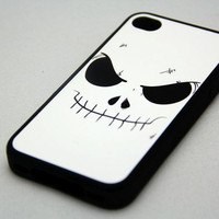 Halloween Skeleton Rubber Case for iPhone 4 and iPhone 4S