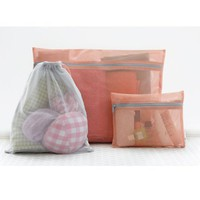 Mesh Travel Pouch Set