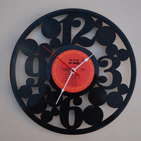 Vinyl Record Album Wall Clock (artist is Bob Dylan)