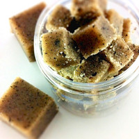 Coffee Sugar Scrub Cubes - Caffeine addicts - Coffee Lovers
